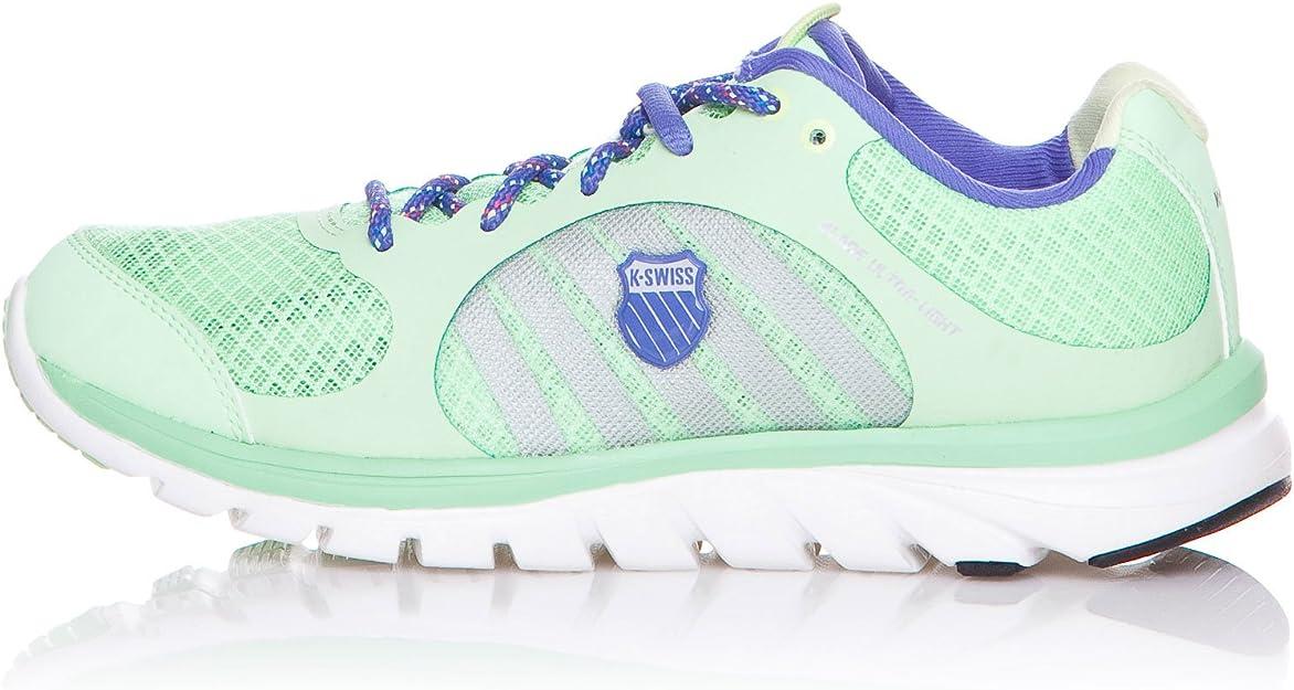 K-Swiss Zapatillas Deportivas Running Blade Ultra Light Verde Claro/Violeta EU 37: Amazon.es: Zapatos y complementos