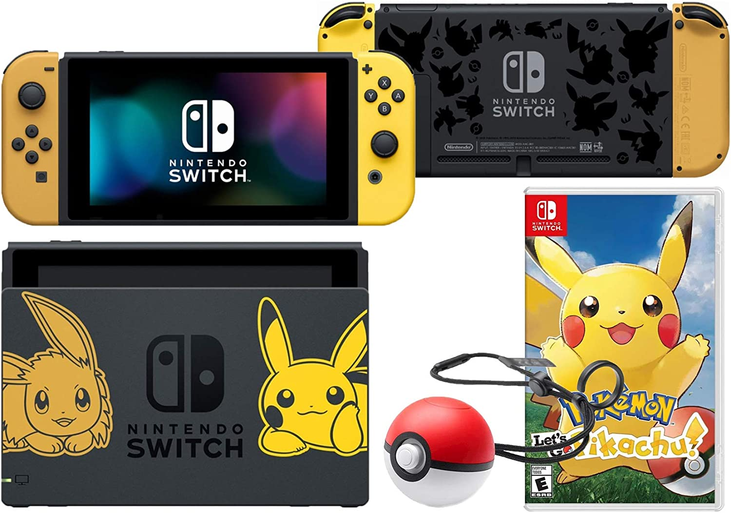 Nintendo Switch Pack (6 piezas): Nintendo Switch 32 GB consola ...