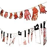 LOVEXIU Halloween Decoracion,Decoracion Halloween Casa,Halloween Decoracion Terror Interiores,Decoracion Halloween…