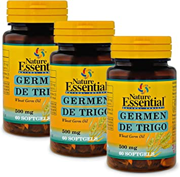 Aceite de germen de trigo 500 mg. 60 perlas (Pack 3 unid.): Amazon ...