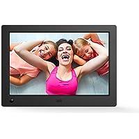 NIX Advance - Cadre numérique 8 Pouces écran Large pour Photos et vidéos HD (720p) avec capteur de Mouvement. Noir. X08G.