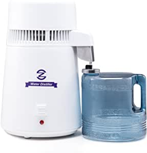 CO-Z - Máquina destiladora de agua, de 4 litros, con botella de ...