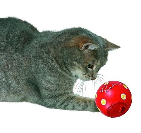 Amazon.com: Trixie gato Activity snack bola, 2.8 inch: Mascotas
