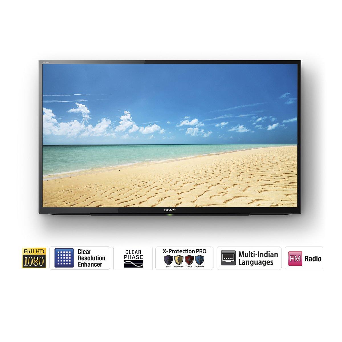 Top 10 40 inch LED TVs in India - Sony Bravia KLV-40R352D Full HD LED TV