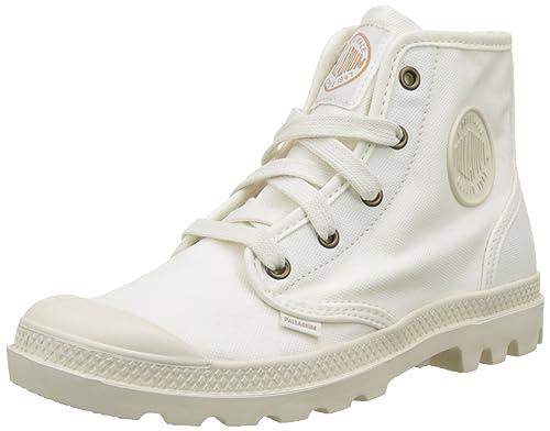 Palladium 92352, Zapatillas Altas de Tela Mujer: Amazon.es: Zapatos y complementos