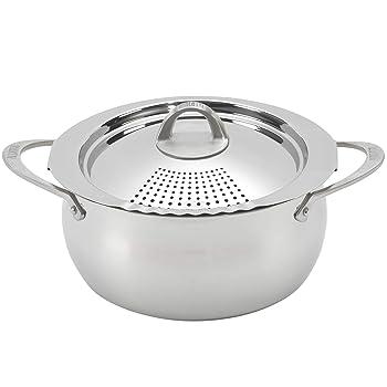 Bialetti Oval 6 Quart Multi-Pasta Pot