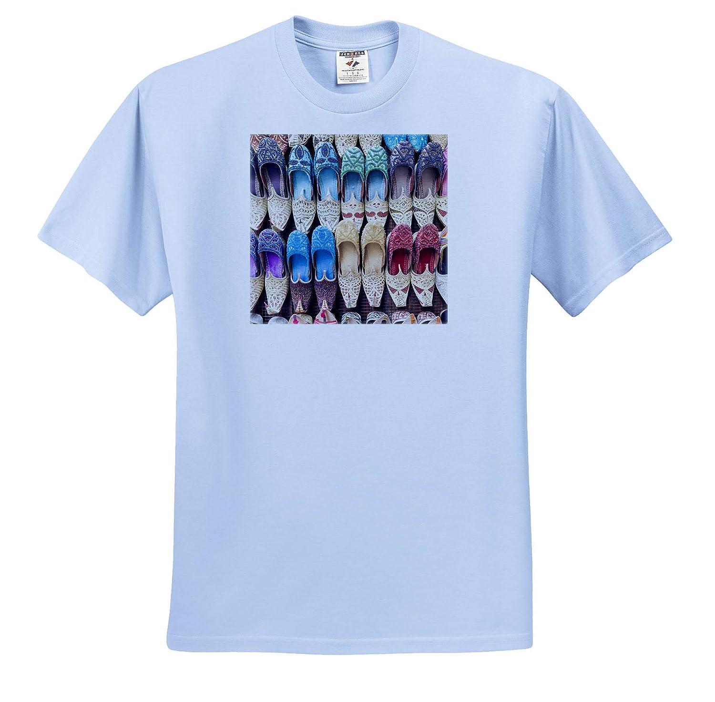 ts/_312929 Adult T-Shirt XL Shoes UAE Deira Souvenir Traditional Slippers Dubai 3dRose Danita Delimont