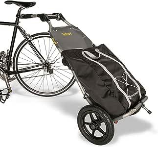 Burley - Remolque para bicicleta o carro de la compra (Incluye ...