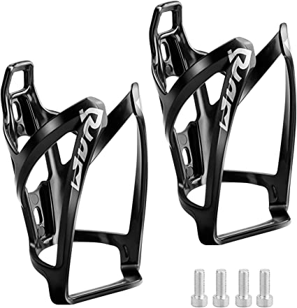 2 piece Carbon Fiber Bottle Holder Mountain Road Bike Bicycle Water Bottle Cages