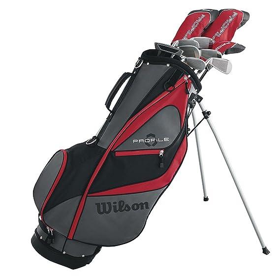 Amazon.com: Wilson - Juego de palos de golf para hombre + ...