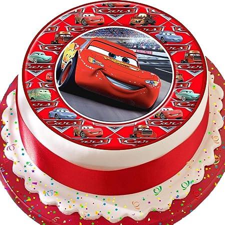 Cars Lightening McQueen coches frontera Cumpleaños ...