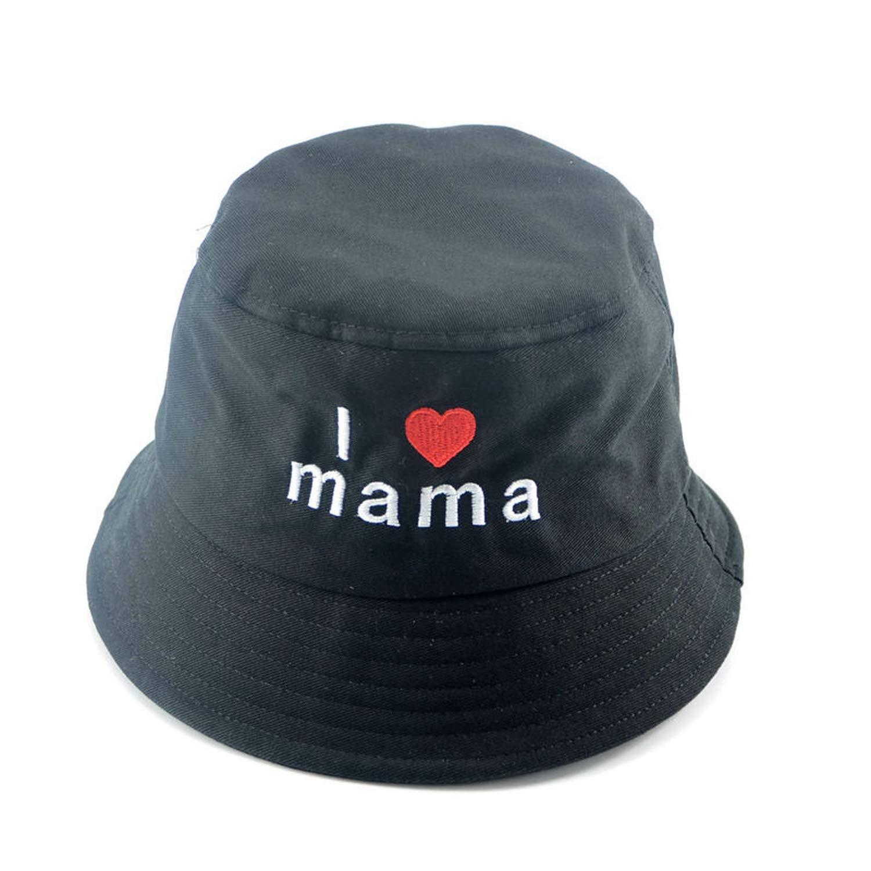 Unisex Bucket Hat Child Summer Beach Hats Unisex Cotton Sun Hats Girls Sunbonnet