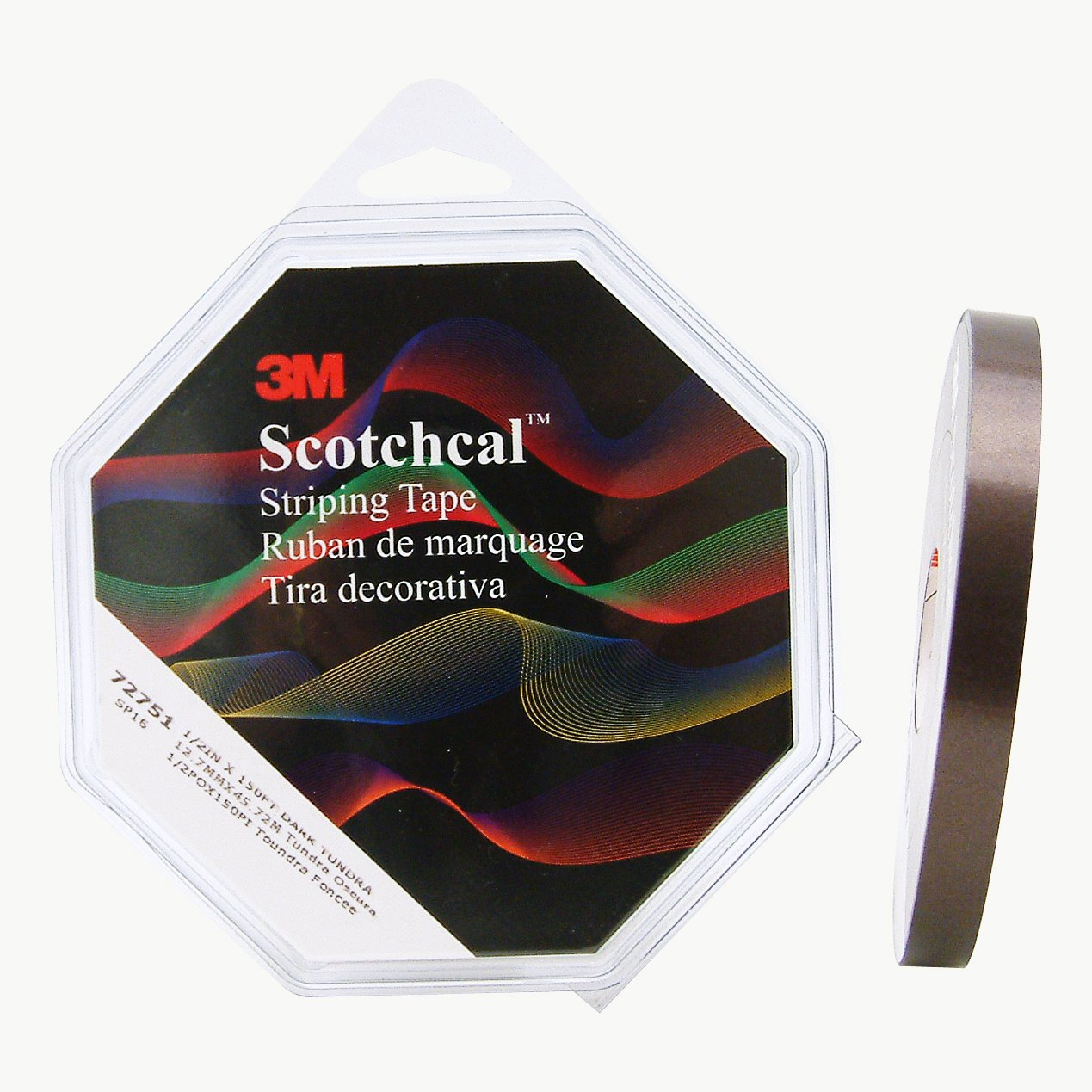 3M(TM) Scotchcal(TM) Striping Tape 70304, Red, 1/4 in x 40 ft [PRICE is per R... 75345495396