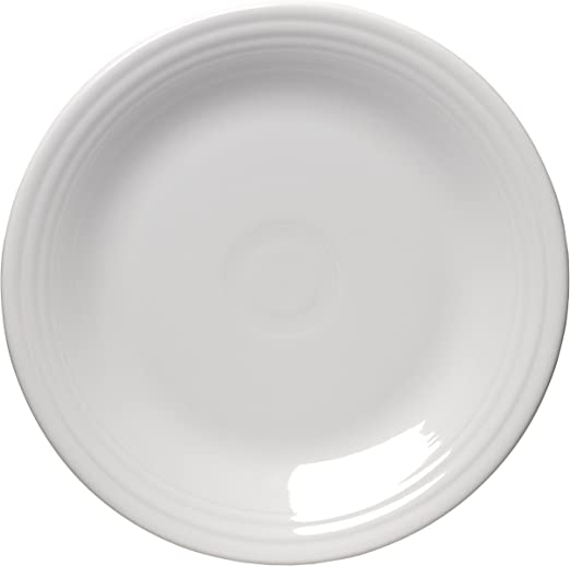 Amazon Com Fiesta 10 1 2 Inch Dinner Plate White Oven Safe Plates Dinner Plates