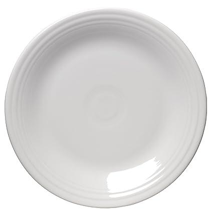 Fiesta 10-1/2-Inch Dinner Plate White  sc 1 st  Amazon.com & Amazon.com | Fiesta 10-1/2-Inch Dinner Plate White: Oven Safe ...