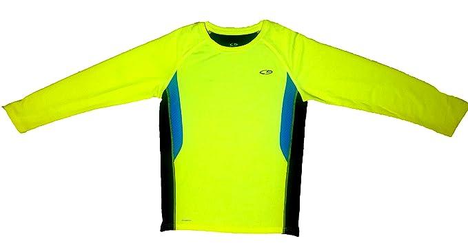 f3585ac73756 Amazon.com: Duo Dry Champion UV Protection Kids Activewear Sports Tech Long  Sleeve T-Shirt: Clothing