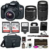 Amazon Price History for:Canon Rebel T6 DSLR Camera w/18-55mm & 75-300mm Lenses Canon 100ES Bag, Flash, Filter kit+ 32GB Promotional Holiday Bundle