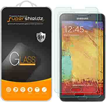 99.99/% High Clarity The Grafu Screen Protector for Galaxy Note 3 9H Bubble Free Tempered Glass Screen Protector for Samsung Galaxy Note 3 Anti Fingerprint 3 Pack