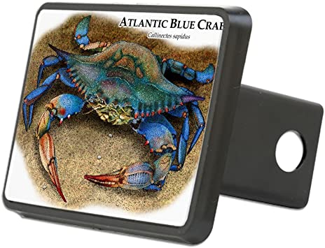 Graphics and More Mosaic Crab Tow Trailer Hitch Cover Plug Insert 2