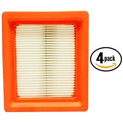 4-Pack Replacement Kohler XT675-2034 Toro Air Filter - Compatible Kohler 1408315-