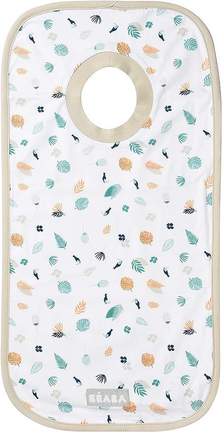 Beaba - Babero de algodón, diseño tropical: Amazon.es: Bebé