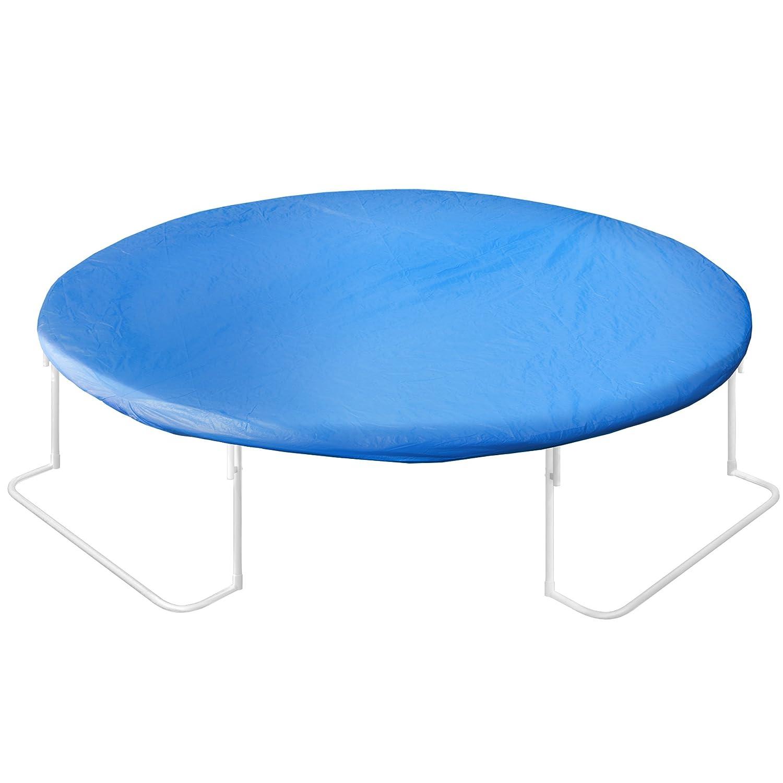Ultrasport Cama elástica de jardín Jumper, Set de trampolin, Incl. Superficie de Salto, Red de Seguridad, Postes Acolchados para la Red y ...