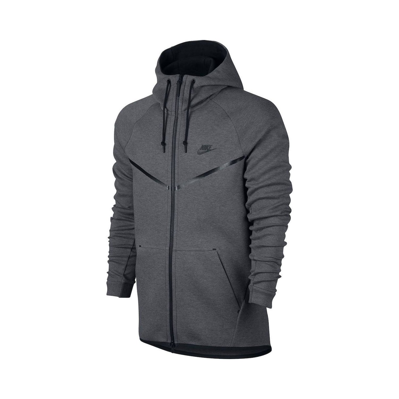 Nike Men\u0027s Sportswear Tech Fleece Windrunner Light Bone/BlackNEW