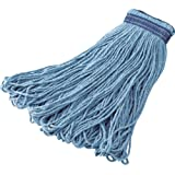 Rubbermaid Commercial FGE23800BL00 Universal Headband Blue Blend Mop, 24-ounce