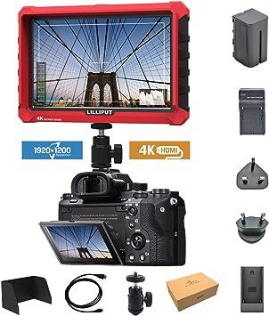 Lilliput A7S 7 pulgadas 1920x1200 IPS Screen Camera Field Monitor ...