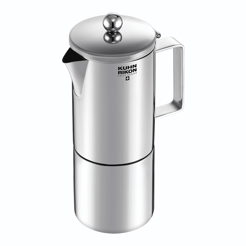 Kuhn Rikon Amelie - Cafetera espresso para inducción, 4 tazas ...