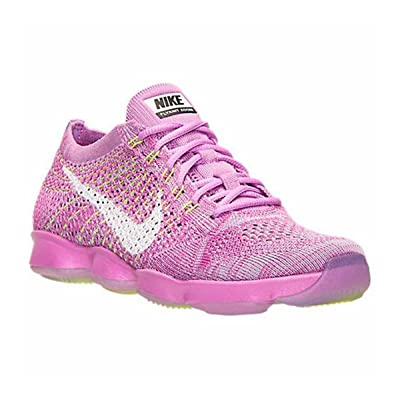 NIKE [698616-500] Flyknit Zoom Agility Wmns Womens Shoes NIKEFCHS Glow White Fchs Flash VOLTM