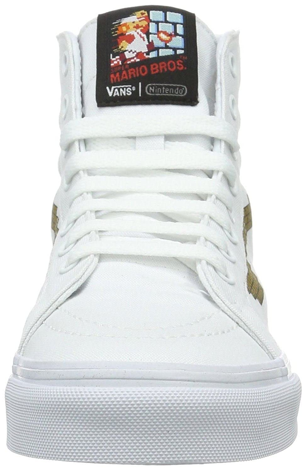 d839af3586 Vans SK8 Hi Slim Nintendo Console Canvas Trainers Shoes-6  Amazon.co.uk   Shoes   Bags