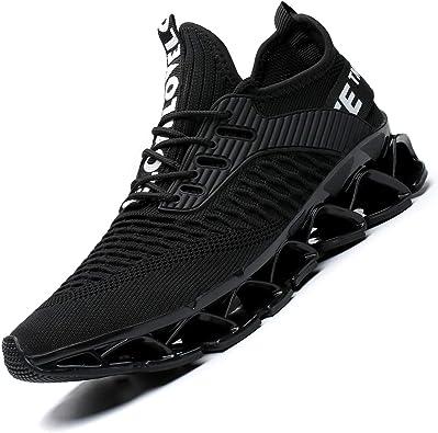 Chopben - Zapatillas de Running para Hombre, Antideslizantes ...