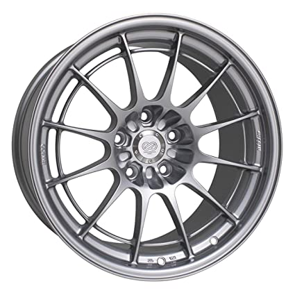 Amazon Com Enkei Nt03m Silver 18x9 5 40 5x114 3 Automotive