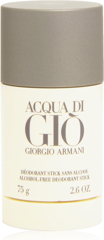 Giorgio Armani, Aqua Di Gio Desodorante Stick, 75 ml