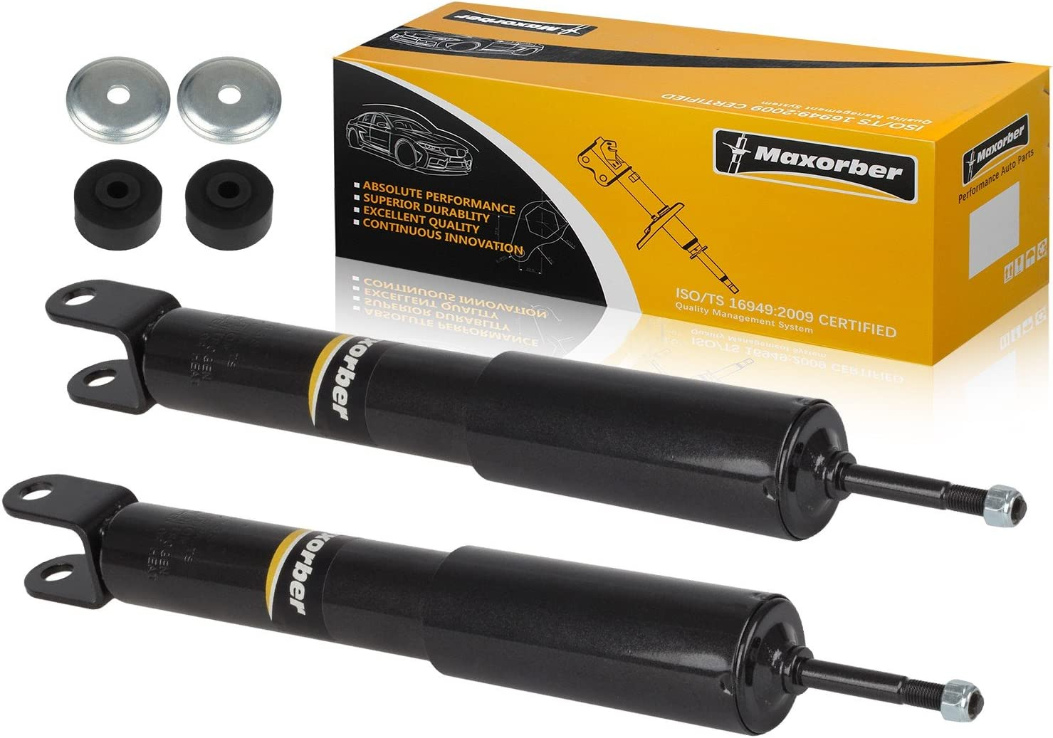 Bilstein B4 Rear axle Shock absorbers Dampers 19-214276 fits MITSUBISHI L OE Rep