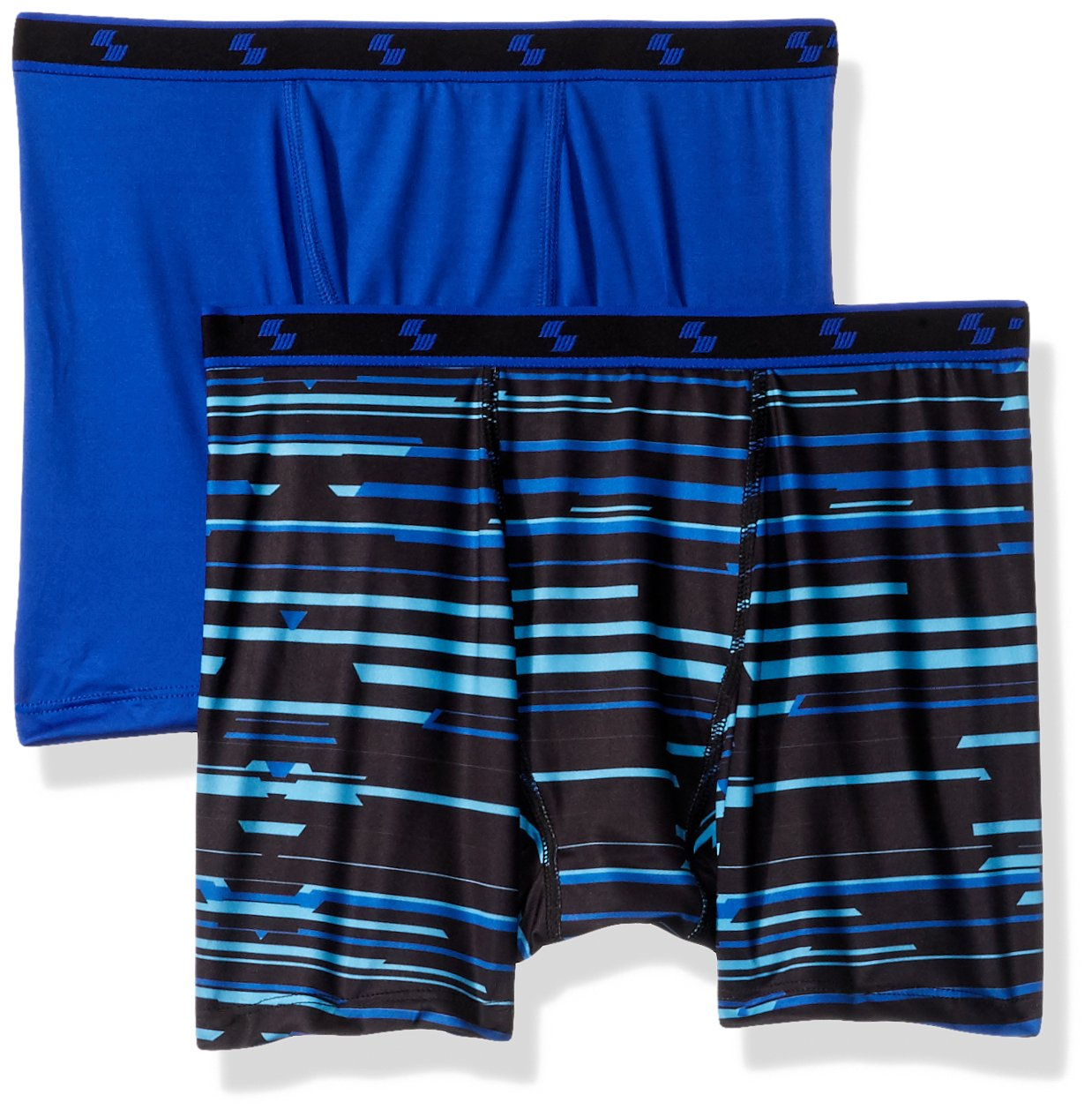 The Children's Place Big Boys' Boxer Briefs,Wizard Blue 83750 (Pack of 2),M (7/8)