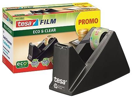 Cinta adhesiva de fácil corte de la mesa de dispensador de economía EcoLogo, incluido 1