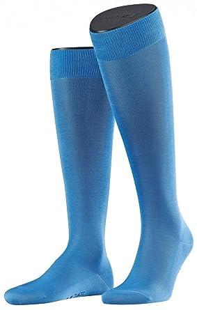 eaf14529b1f Falke Mens Linen Tiago Knee High Socks - Blue at Amazon Men s ...