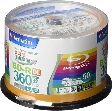 50 Verbatim Double Layer 3d Blu Ray Rohlinge 50 Gb Full Computer Zubehör
