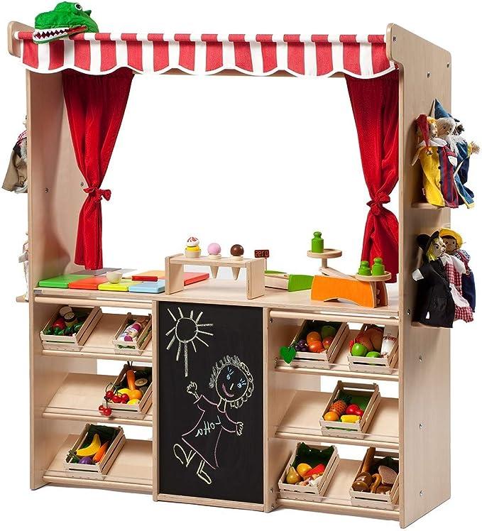 Kaufmann Magasin Marché stand balance Goki en Bois Cuisine Pour Enfants Jouet Créatif