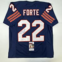 $99 » Autographed/Signed Matt Forte Chicago Blue Football Jersey JSA COA
