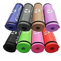 #DoYourFitness Fitnessmatte »Yamuna« / Extra-dick und weich, ideal für Pilates, Gymnastik und Yoga, Maße: 183 x 61 x 1,5cm / In vielen Farben erhältlich.