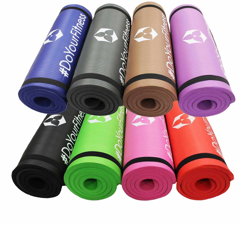 Esterilla para fitness »Yamuna« / Colchoneta EXTRA gruesa y suave, perfecta para pilates