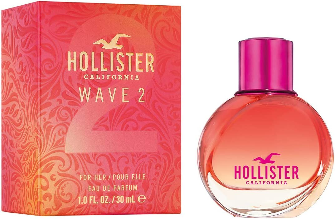 Hollister Wave 2 For Her Eau de Parfum 64% OFF £7.99 @ Amazon