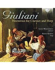 GIULIANI: Nocturnes for Clarinet and Harp