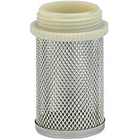 """GARDENA zuigkorf: Aanzuigfilter van fijnmazig gevlochten staal, schroefdraad van 33,3 mm (G 1"""") voor tussenventielen…"""