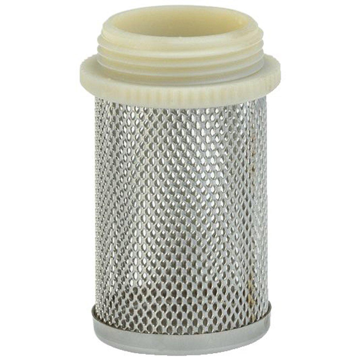 GARDENA Saugkorb: Saugfilter aus feinmaschigem Stahlgeflecht, 26.5 mm (G 3/4')-Gewinde fü r Zwischenventile (7240-20) 26.5 mm (G 3/4)-Gewinde fü r Zwischenventile (7240-20) 07240-20