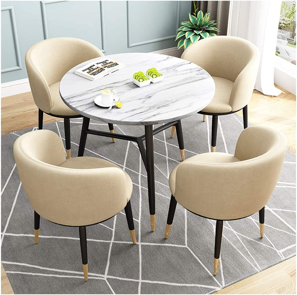 Furniture 80cm Round Dining Table And 2 4 Chairs Set Plastic Wooden Legs Study Office Grey Home Furniture Diy Breadcrumbs Ie