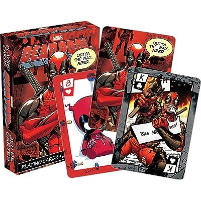 Aquarius Marvel Deadpool Playing Cards: Toys & Games